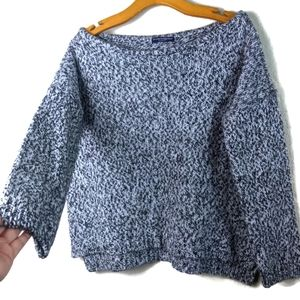 Brandy Melville Wool Marled Speckled Knit Sweater